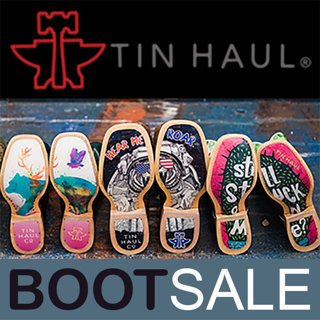 $25 OFF all Tin Haul® boots for Guys and Gals!