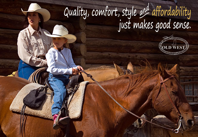Old West Boots - Quality, Comfort, Style and Affordability Just Makes Good Sense