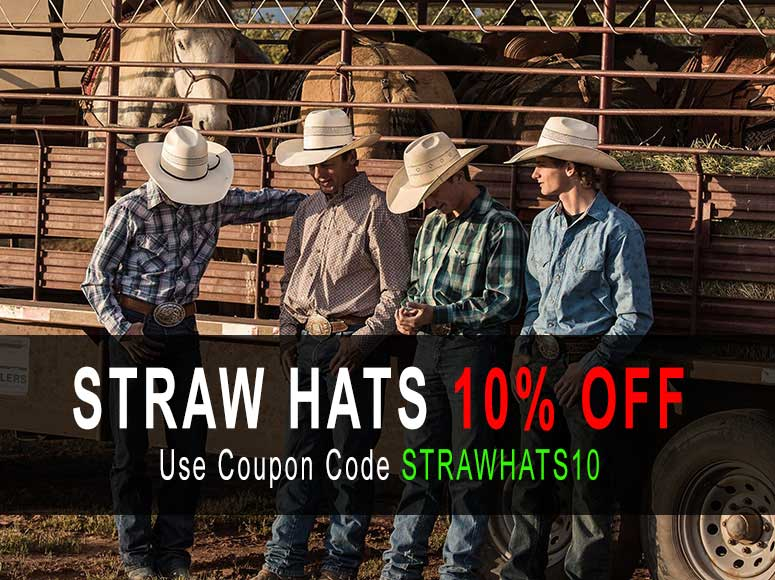 Straw Hats 10% Off