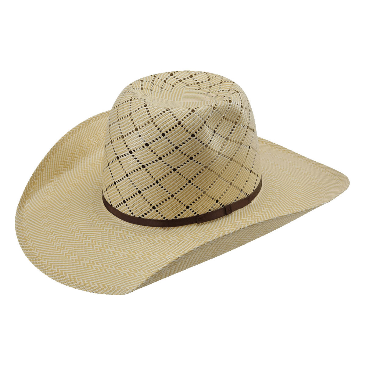 American Hat Co 20☆ Patchwork Crossbred Straw Hat - Wheat. Tap to expand f1bef3fd1aa0