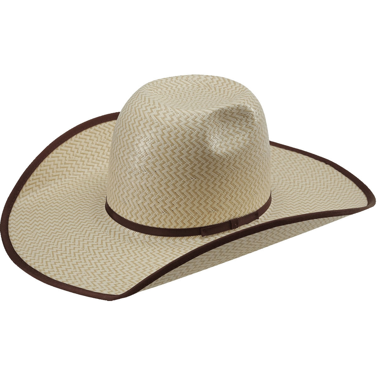 Pungo Ridge - American Hat Co 15☆ 3X3 Two-Tone Shantung Straw Hat ... ec240a72d1a