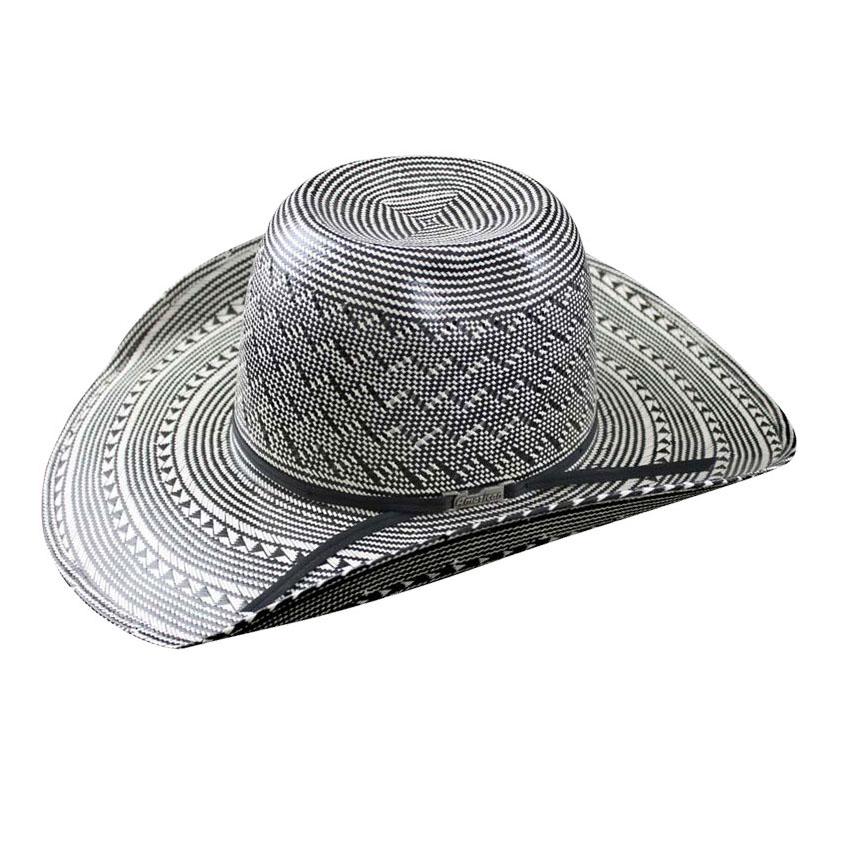 Pungo Ridge American Hat Co 20 Fancy Weave Vent Straw Hat