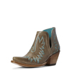 Ariat Dixon Ash Brown Western Shorty Boots
