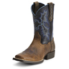 Ariat Youth Tombstone Western Boots - Earth/Black