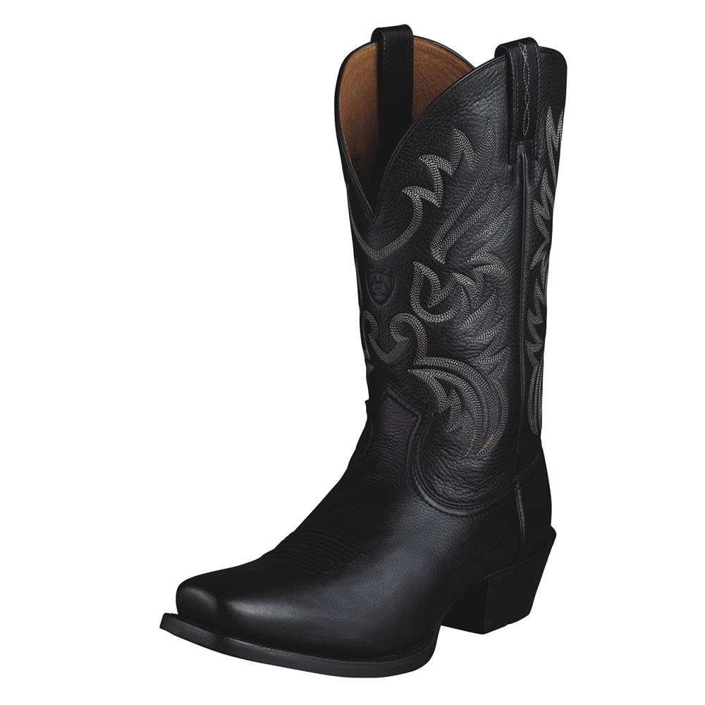 Pungo Ridge Ariat Legend Boots Black Deertan Men S