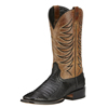 Ariat Men's Firecatcher Black Caiman Belly / Tan