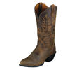 Ariat Women's Heritage Western R Toe Boots - Distressed Brown