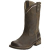 Ariat Unbridled Roper Boots - Distressed Brown