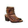 Corral Women's Lace Tall Top Sandal - Tobacco
