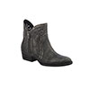 Circle G Women's Laser Cut Out Shorty Boots - Deniro Black