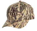 Cowboy Up Mossy Oak Embroidered Ball Cap - Brown/Green