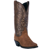 Laredo Women's Kadi Western Boots - Tan Distressed