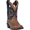 Dan Post Children's Rascal Cowboy Boots - Aged Bark