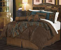 Del Rio Tooled Suede Bedding Set