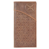 Hooey Embossed Rodeo Wallet - Brown