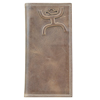Hooey Signature Distressed Rodeo Wallet - Brown