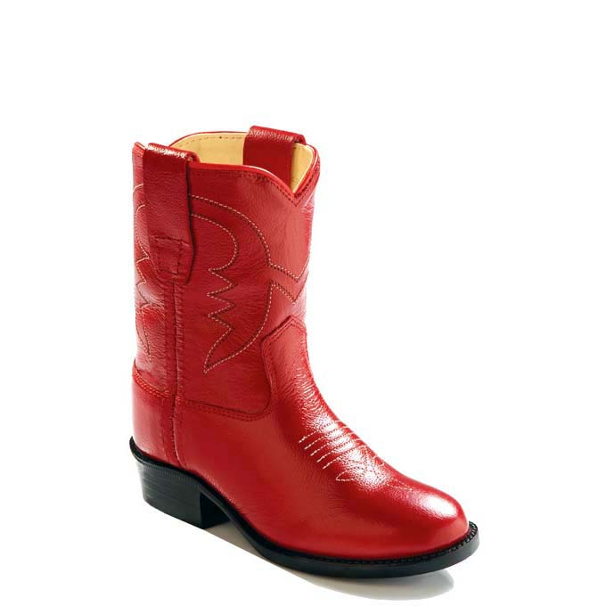e816c252566 Old West Toddler's Western Boots - Red