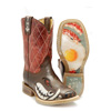 Tin Haul Kid's Not Boaring Boots w/Bacon & Eggs Sole
