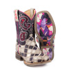 Tin Haul Kid's Sparkle Boots w/Butterfly Sole
