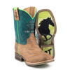 Tin Haul Youth Horse Power Boots w/Born To Be Fast Sole