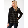 Roper Ladies Plaid Combo Jacket