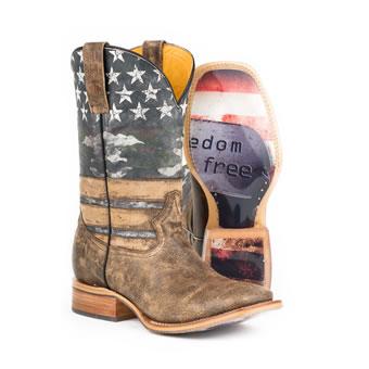c174f485c88 Pungo Ridge - Roper Ladies Sense 1 Concealed Carry Boots - Waxy ...