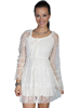 Scully Honey Creek Ladies Lace Dress - Ivory