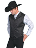 Men's RangeWear Floral Stripe Vest - Black