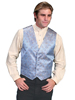 Men's RangeWear Shawl Collar Scroll Vest - Blue