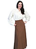 Rangewear Ladies Brushed Twill Skirt - Brown