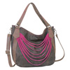 Catchfly Paige Hobo Bag - Brown/Pink