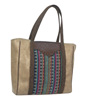 Catchfly Hillary Mexican Blanket Tote Bag - Multi